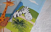 BQ safari kidsroom design cartoon quilt